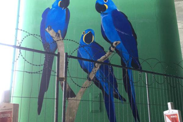 muurschildering beschermen vandalisme