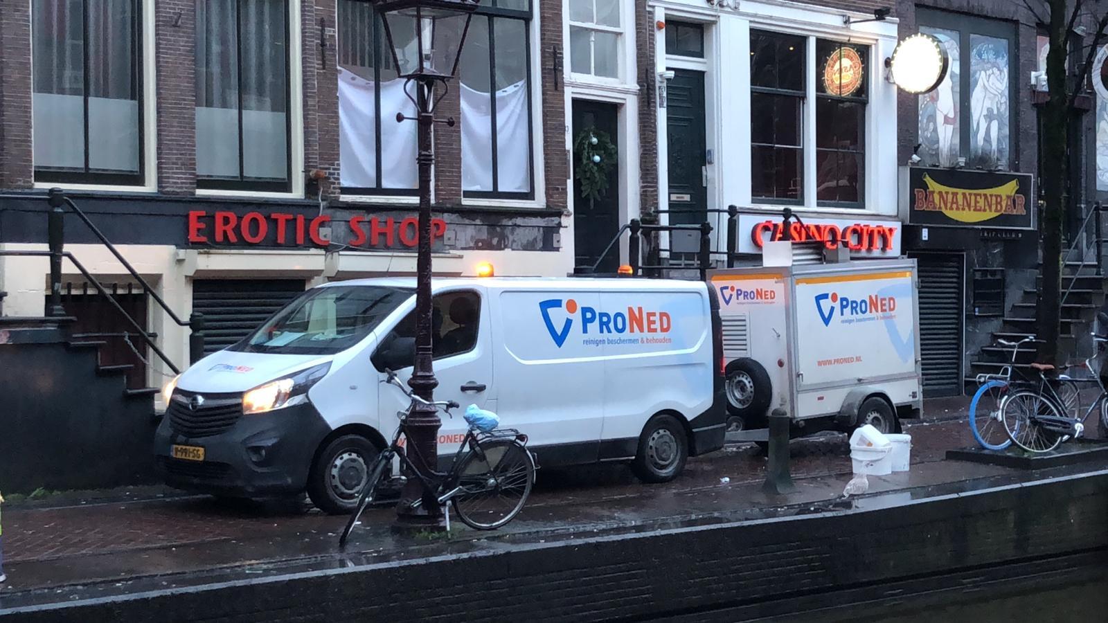 Hogedruk reiniging omgeving Amsterdam