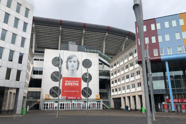 Conserveren parkeergarage Arena Amsterdam